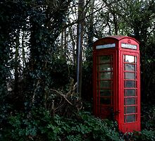 Abandoned Phone Box by bloopester