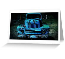 Lomography Truck Photography Greeting Card