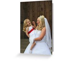 Bridal Smiles Greeting Card