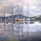 On the Huon River by Karine Radcliffe