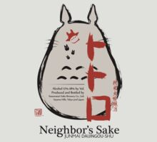 Neighbor's Sake (Totoro) by Ruwah