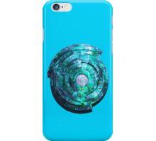 Blue/Aqua/Green Shield-t iPhone Case/Skin