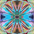 God Is Divine Abstraction #5 by HeklaHekla
