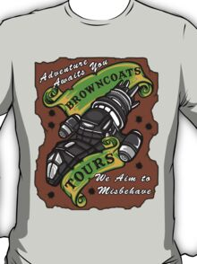 Browncoats Tours T-Shirt