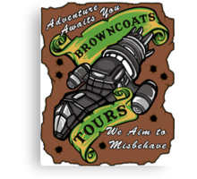 Browncoats Tours Canvas Print