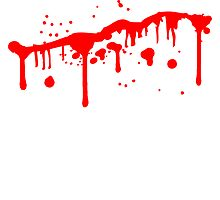 Blood wound splashes slashed bleeding to death by Style-O-Mat