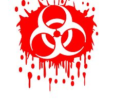 Biohazard blood graffiti by Style-O-Mat