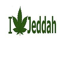 I Love Jeddah  by Ganjastan