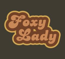 Foxy Lady - Retro 70s - Logo by graphix