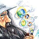 Gandalf the Hip by Kaelie Rush