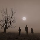 sun gazers by Maria  Moro