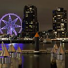 Southern Star Observation Wheel Docklands by Frank Moroni