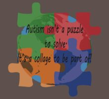 Autism is a collage by Sharon Murphy