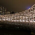 Webb Bridge Docklands by Frank Moroni