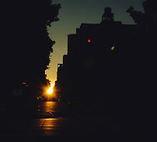 Manhattan Henge by Ella McDonald
