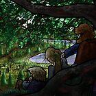 Norse Midsummer: People Watching by vikingsbooksetc