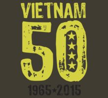 Vietnam War 50th Anniversary by heliconista