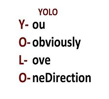 yolo - you obviously love onedirection by jjxtreme