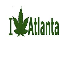 I Love Atlanta by Ganjastan