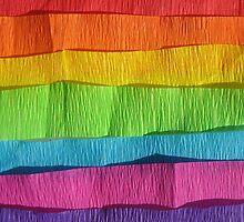 Take the rainbow with you. by Monika Malinowska