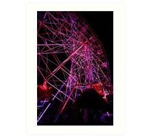 Ferriswheel of Death, Dark Mofo 2014  Art Print