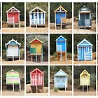18 Beach Huts by Yampimon