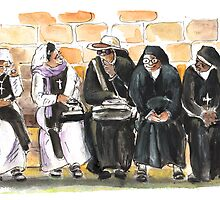 Nuns in Noto by Goodaboom