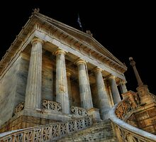 National Library of Greece, Athens (III) by Kostas Kalomiris
