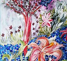 Spring Blossoms by Melinda Firestone-White
