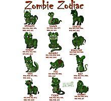 Zombie Zodiac Photographic Print