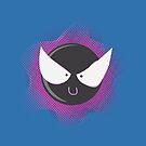 Cute Gastly by Alex Clark