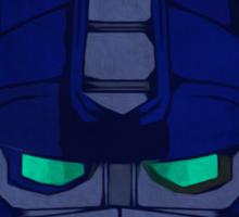 Optimus Prime Pop Art Painting Sticker