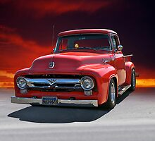 1956 Ford F100 Stepside II by DaveKoontz