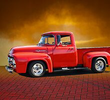 1956 Ford F100 Stepside III by DaveKoontz