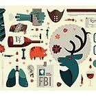Hannibal Icons by Gretchen Braun