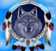 DREAM WOLF by GLENN HOLBROOK