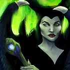Maleficent by nicolealesart