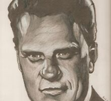 Billy Graham drawing by RobCrandall