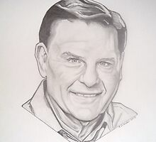 Kenneth Copeland drawing by RobCrandall