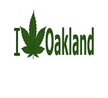 I Love Oakland  by Ganjastan