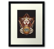 King of the Game Framed Print