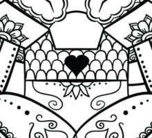 Abra de los Muertos | Pokemon & Day of The Dead Mashup Sticker