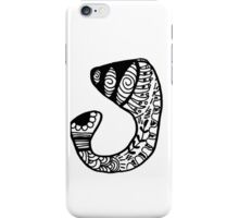 "Hipster Letter ""J"" Zentangle iPhone Case/Skin"