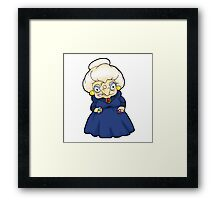 Ohh, your name's Chihiro? What a pretty name! And it belongs to ME now. Framed Print