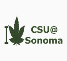 I Love CSU @ Sonoma by Ganjastan