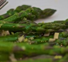 Asparagus Fan by CReayHutchinson