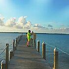 Paradise Pier Pensacola by Charldia