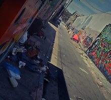 mission graffiti  by Derek Williams