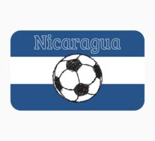 Republic of Nicaragua | Football Kids Clothes