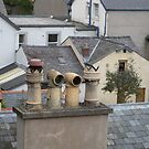 Chimney Pots and Rooftops by Kay Cunningham